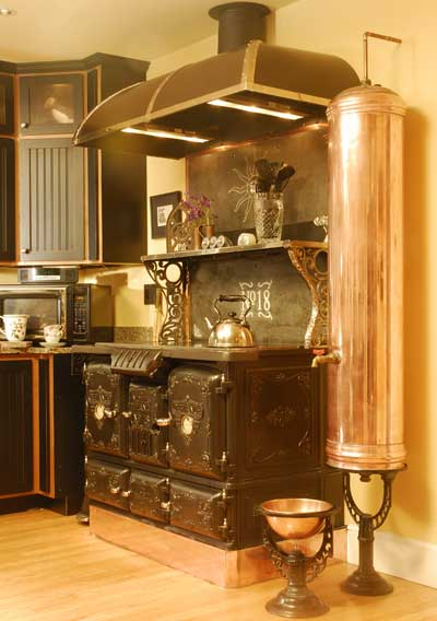 Welcome to Antique Stove Heaven!